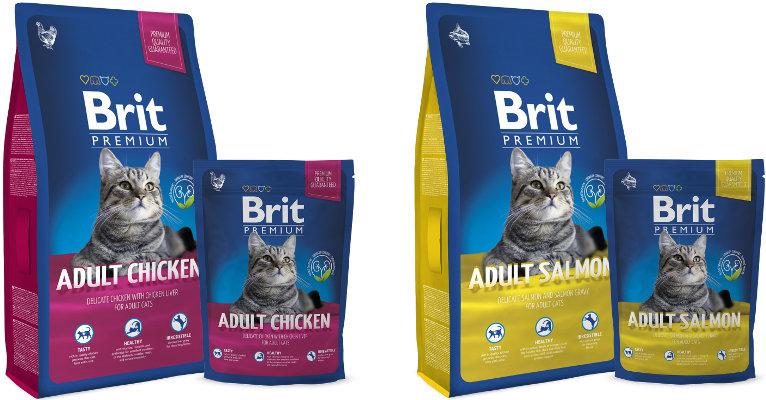 Корм для кошек Брит Премиум - отзывы