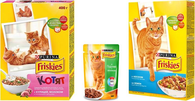 Корм для кошек Фрискис - отзывы ветеринаров