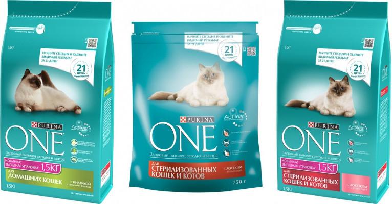 Корм для кошек Purina One - отзывы