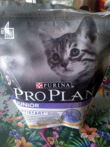 Отзыв о корме ПроПлан для котят