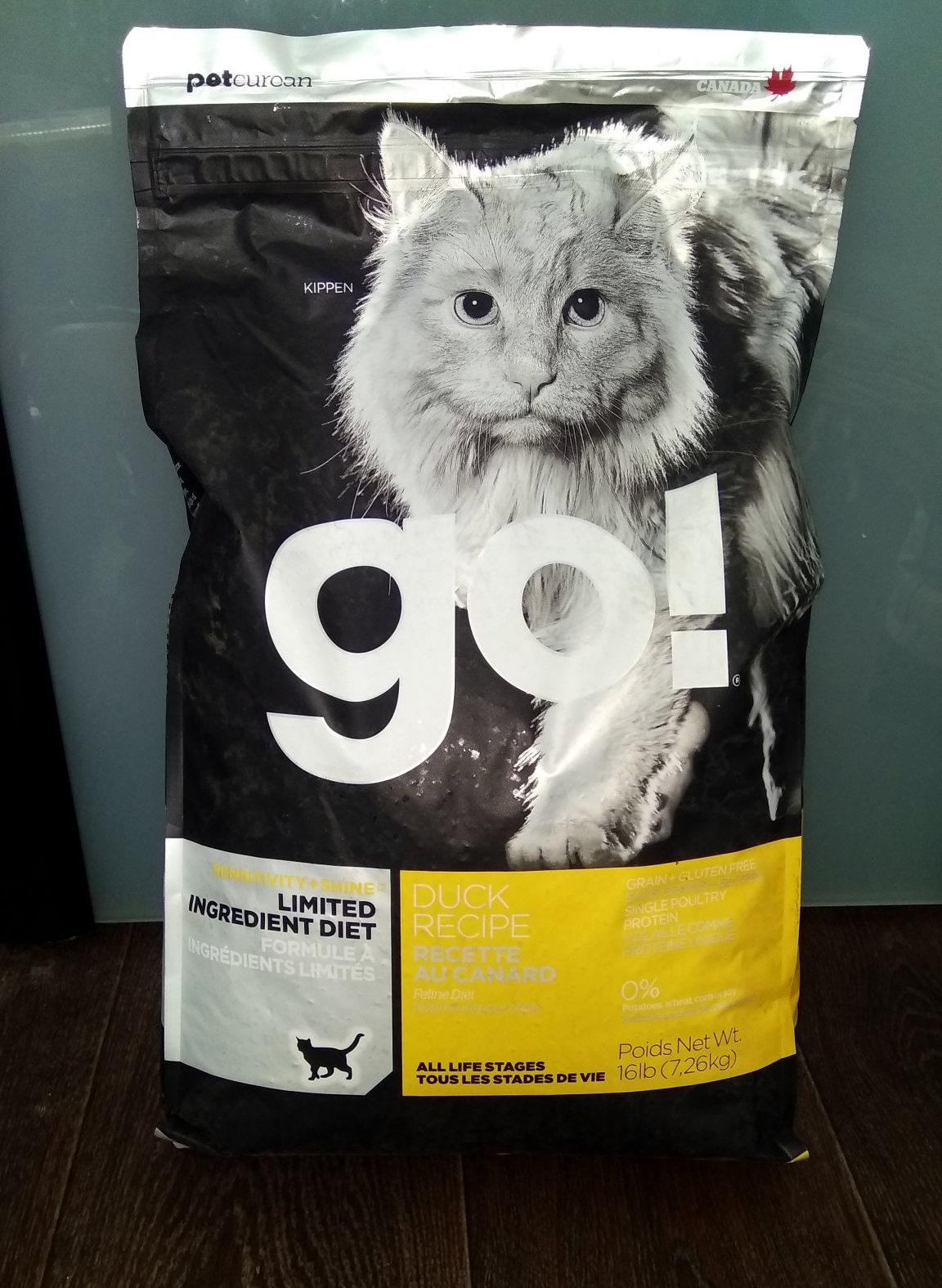 Корм Go Natural, обзор корма Гоу Натурал для собак и кошек
