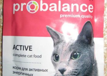 Консервированный корм Пробаланс для кошек