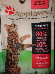 Корм Апплавс для кошек - отзывы