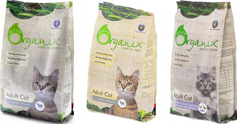 Корм Organix для кошек - отзывы