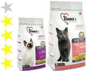 Корм для кошек 1st Choice: отзывы и разбор состава