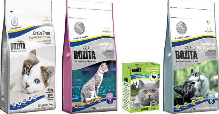 Корм для кошек Bozita - отзывы