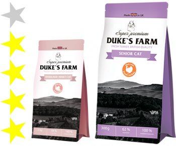 Корм для кошек Dukes Farm