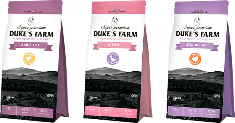 Корм для кошек Dukes Farm - отзывы