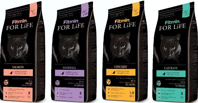 Корм для кошек Fitmin For Life - отзывы