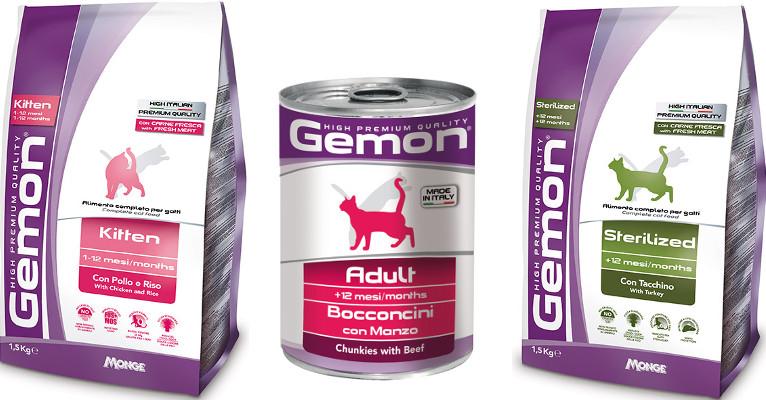 Корм для кошек Gemon - отзывы