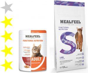 Корм для кошек Mealfeel