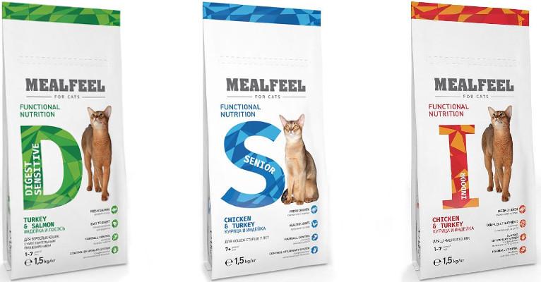 Корм для кошек Mealfeel - отзывы