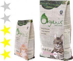 Корм для кошек Organix