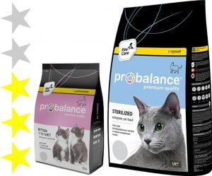 Корм для кошек Probalance