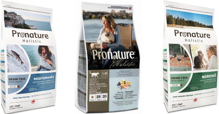 Корм для кошек Pronature Holistic - отзывы