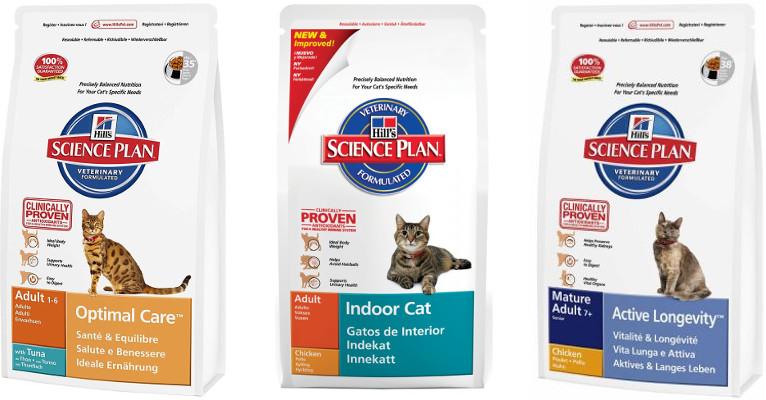 Корм для кошек Science Plan - отзывы