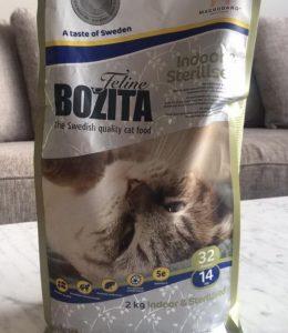 Отзыв о корме Bozita для стерилизованных кошек