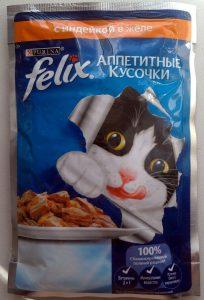 Отзыв о корме Феликс для кошек