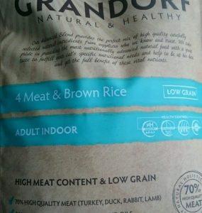 Отзыв о корме Грандорф для кошек