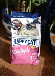 Отзыв о корме Happy Cat для кастрированных котов