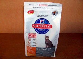 Отзыв о корме Hills Science Plan для кошек