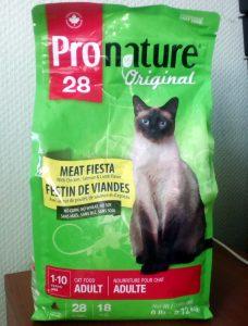 Отзыв о корме Пронатюр Ориджинал для кошек