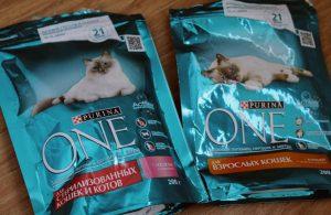 Отзыв о корме Purina One для кошек
