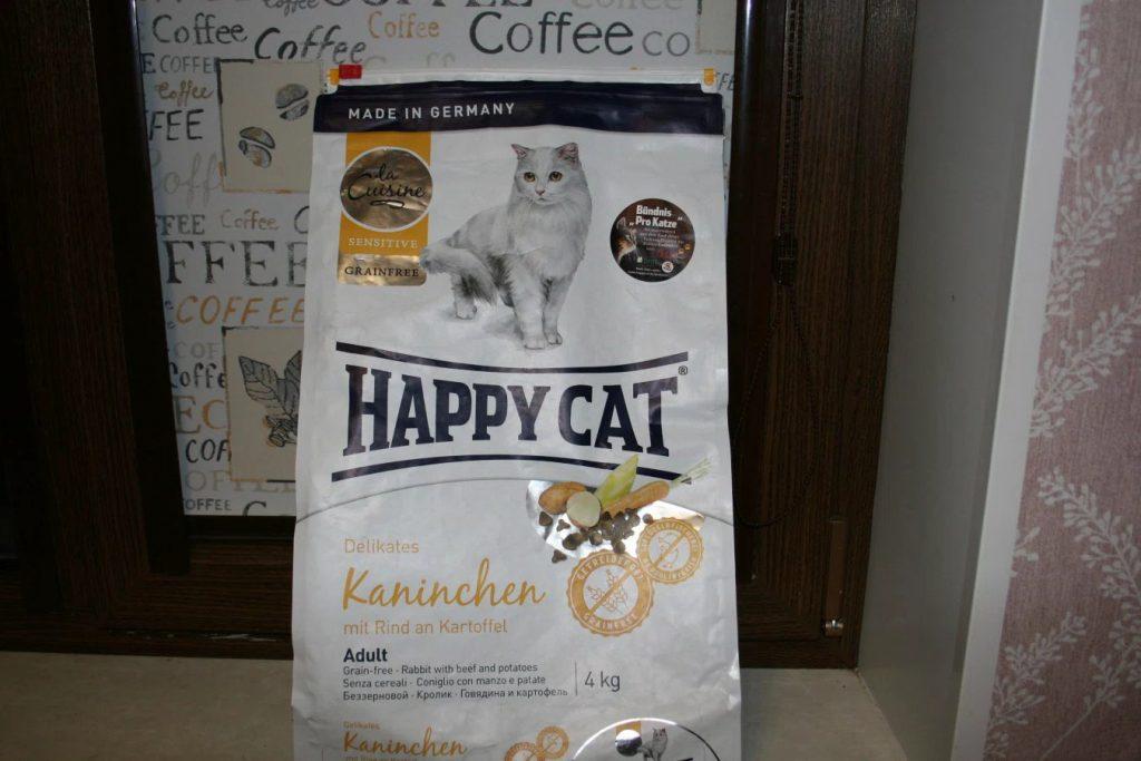 Отзыв о корме для кошек Happy Cat
