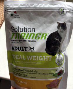 Отзыв о сухом корме для кошек Трейнер