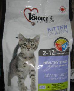 Отзывы о корме для кошек 1st Choice