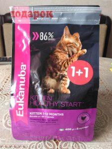 Отзыв о корме для кошек Ekanuba