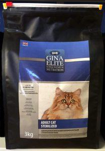 Отзывы о корме для кошек Gine Elite