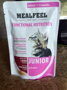 Отзывы о корме для кошек Mealfeel