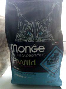 Отзывы о корме для кошек Monge