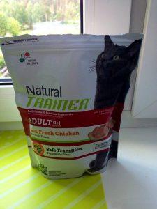 Отзывы о корме для кошек Trainer