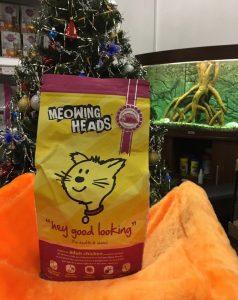 Отзывы о сухом корме для кошек Meowing Heads