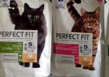 Отзывы о сухом корме для кошек Perfect Fit