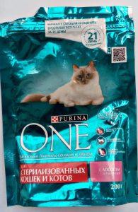 Сухой корм Purina One для стерилизованных кошек