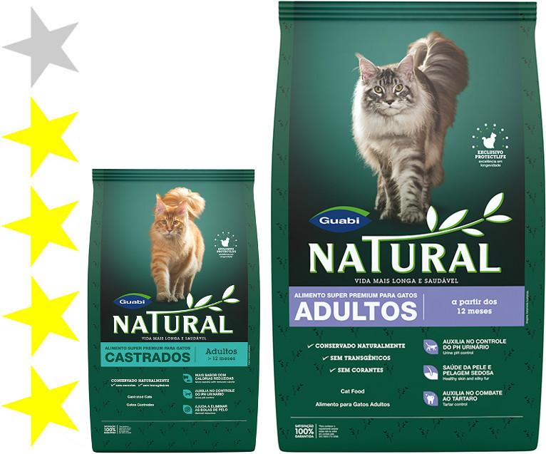 Как давать корм Натурал кошке