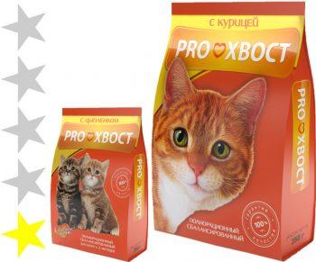 Корм для кошек ПроХвост