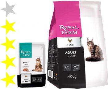Корм для кошек Royal Farm