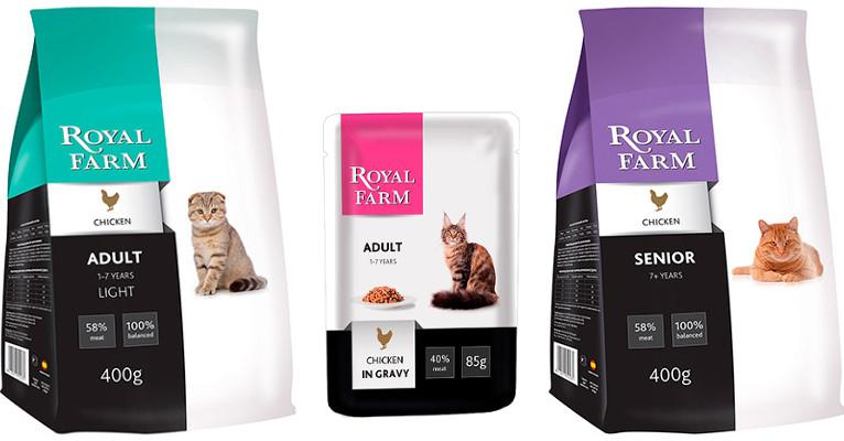 Корм для кошек Royal Farm - отзывы
