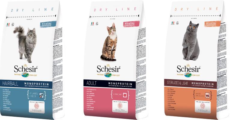 Корм для кошек Schesir - отзывы