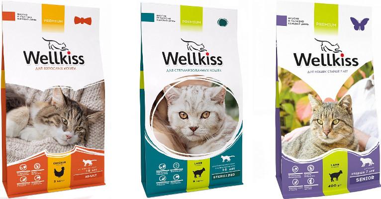 Корм для кошек Wellkiss - отзывы