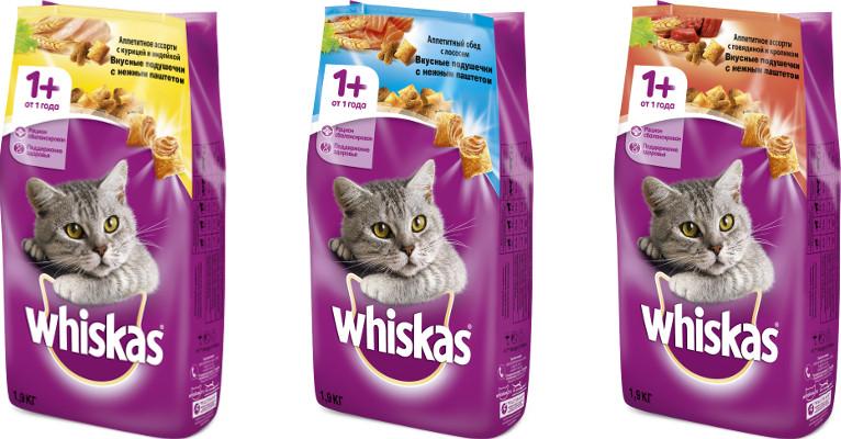 Корм для кошек Whiskas - отзывы