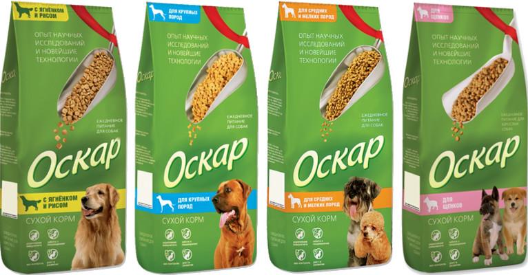 Корм для собак Оскар - отзывы