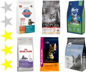 Корма премиум класса для кошек: список, рейтинг, отзывы