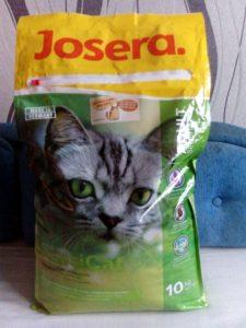 Отзыв о корме для кошек Josera