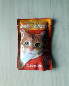 Отзыв о корме для кошек Proхвост