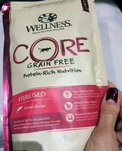 Отзыв о корме для кошек Wellness CORE